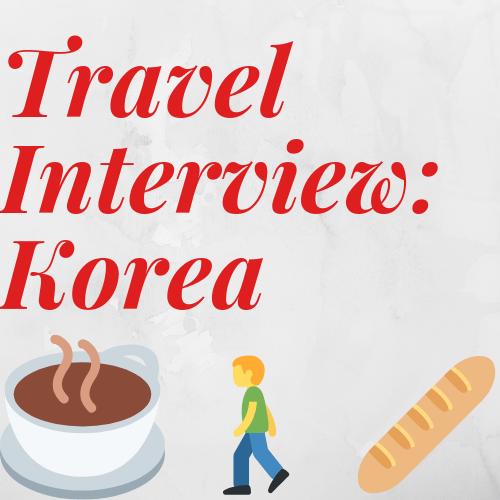 South Korea Travel Interview